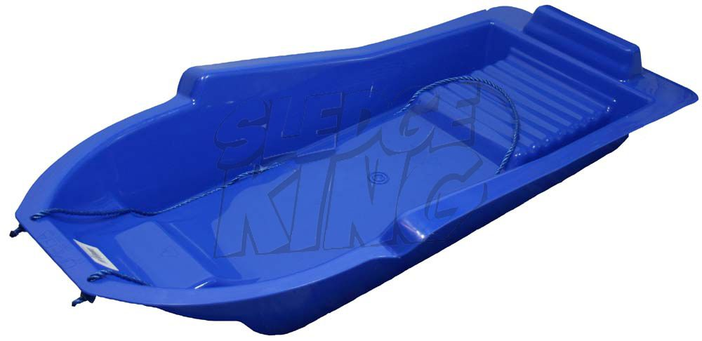 Omega Adults Snow Sports Sled Sledge in BLUE