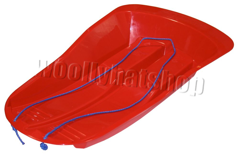 Delta Snow Sports Sled Sledge in RED