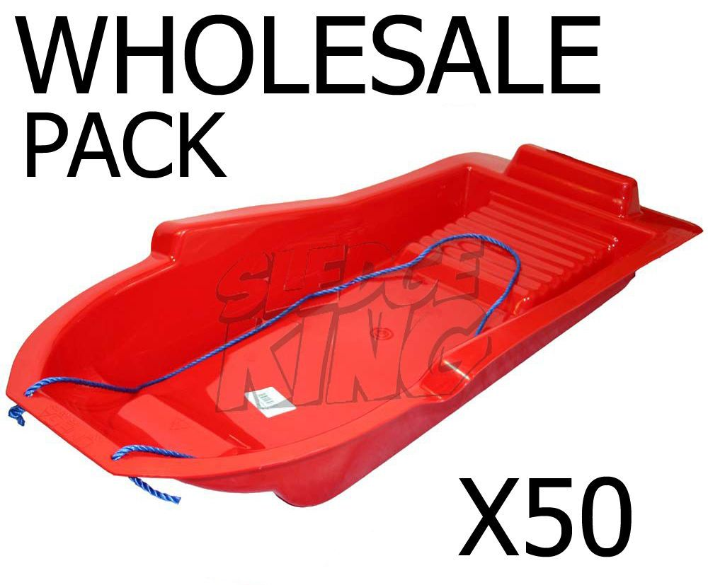 Pack of 50 Omega Sledge Sled in RED